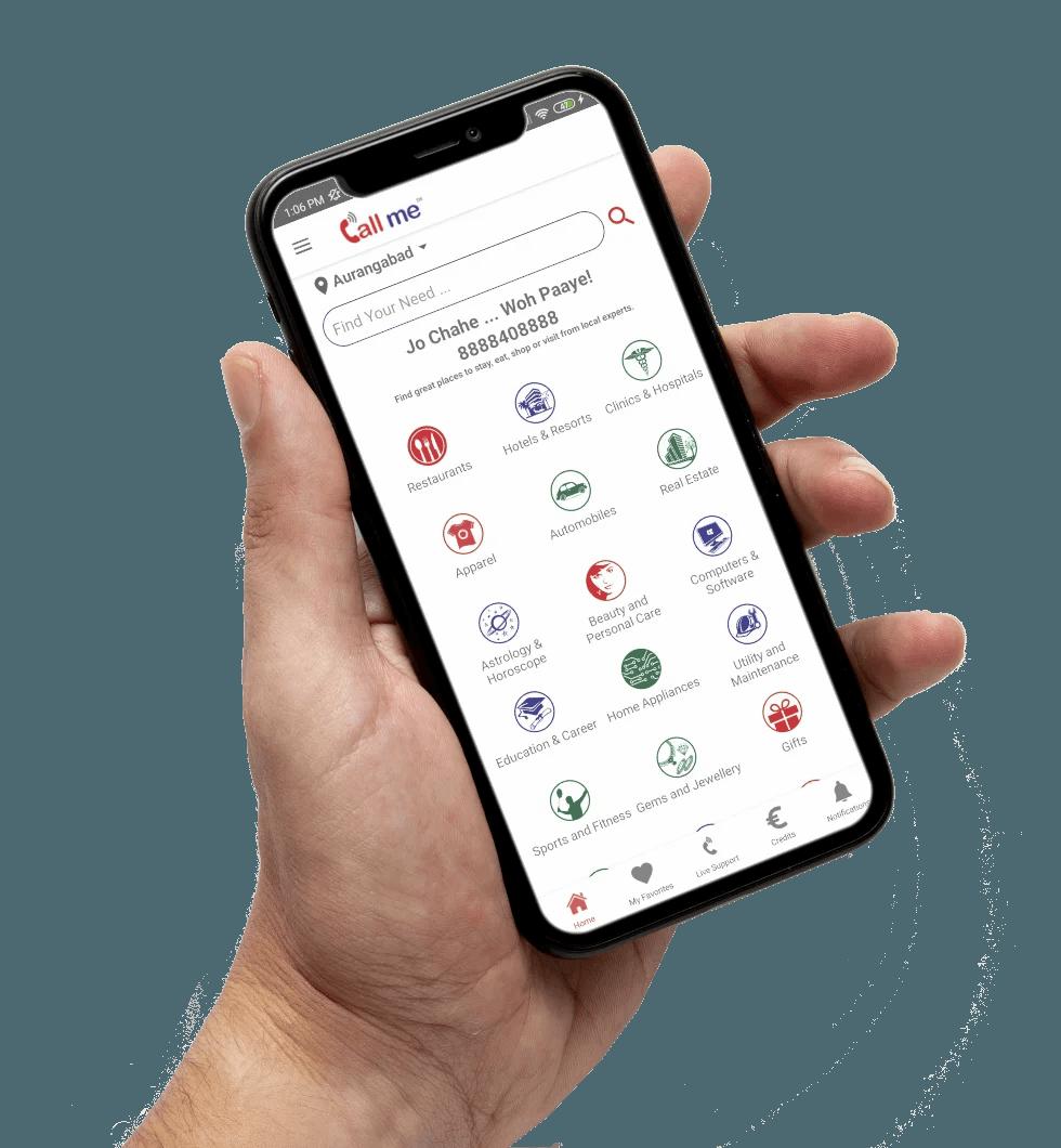 CallMe Mobile App